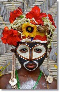 Joven Abeslam vestido para celebrar la liturgia del ñame -etnias.net