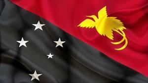 Bandera de los Abelam (Papúa Nueva Guinea)