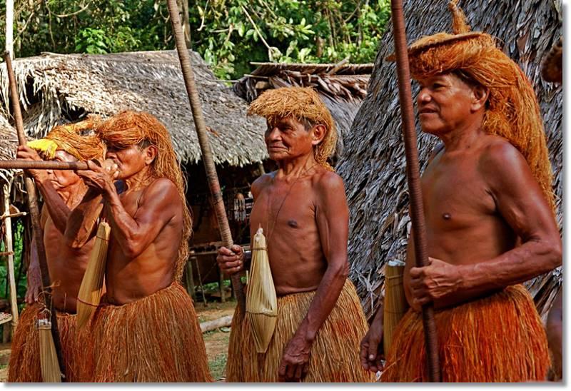 Componentes del grupo étnico amahuaca - etnias.net