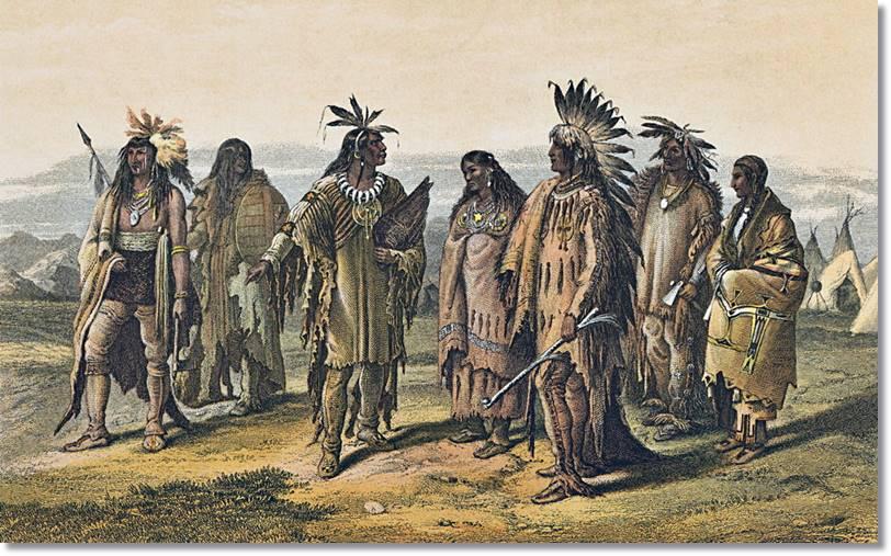 Fotografía de amerindios americanos del norte - etnias.net