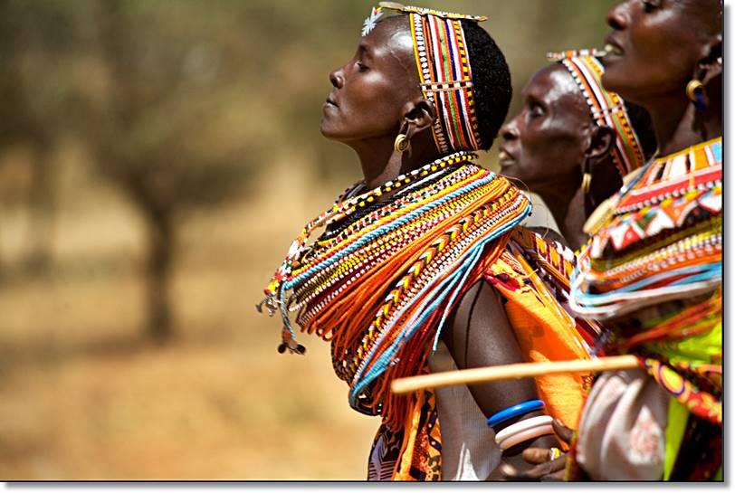 En Africa el número de tribus y etnias son muy numerosas, cada una de ellas con sus propias costumbres y creencias
