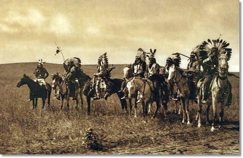En el siglo XIX, la que en tiempos fuera orgulloso tribu de los siux