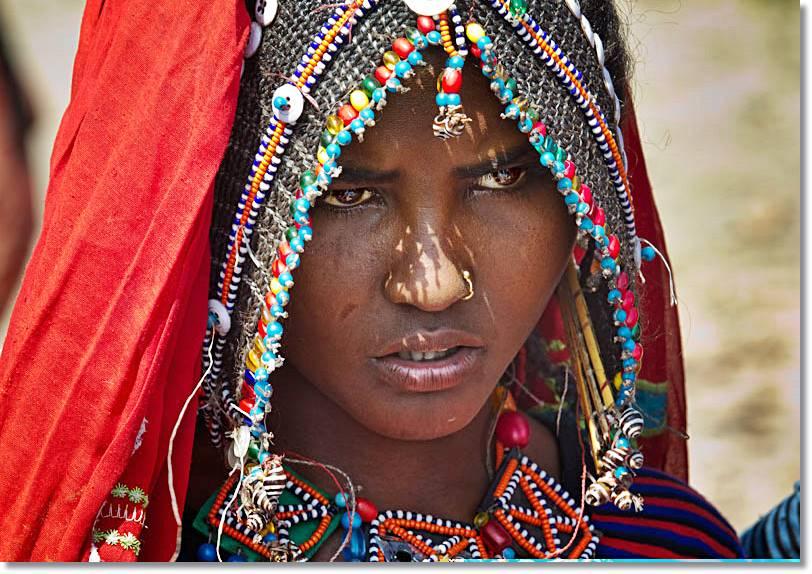 Los Afar, una etnia africana