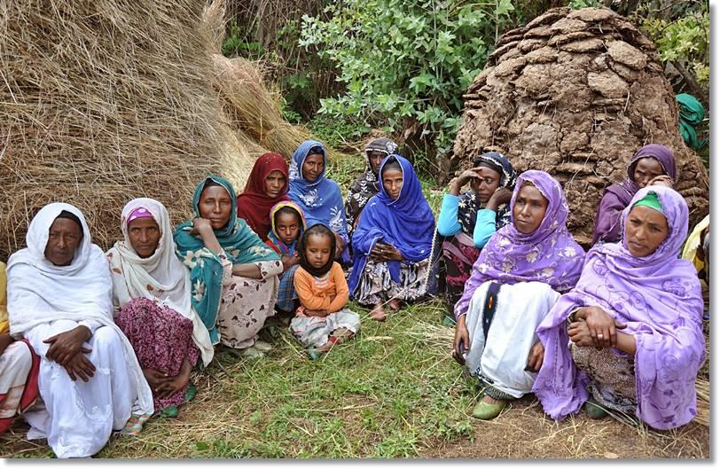 Mujeres de la etnia amhara