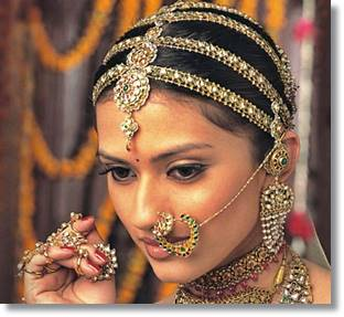 Novia apatani preparada para casarse
