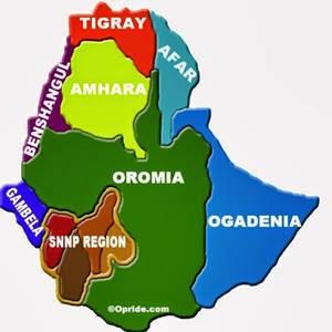 Regiones de Etiopía