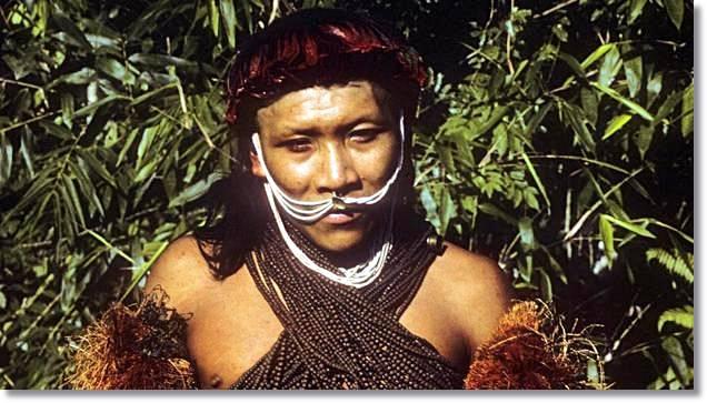 Un miembro de la tribu yora. Fte. bbc.com