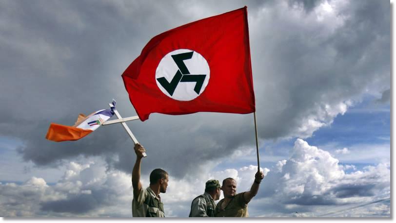 Bandera del Movimiento de Resisencia Afrikaner - etnias.net