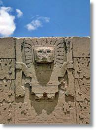 Dios de los Aymara y de los Incas también llamado Huiracocha o Wiracocha, Dios de los báculos o de las varas, es una divinidad del cielo que consideran como al Dios Creador - etnias.net