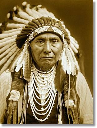 El semblante de este jefe apache refleja el destino que depararía a su pueblo - etnias.net
