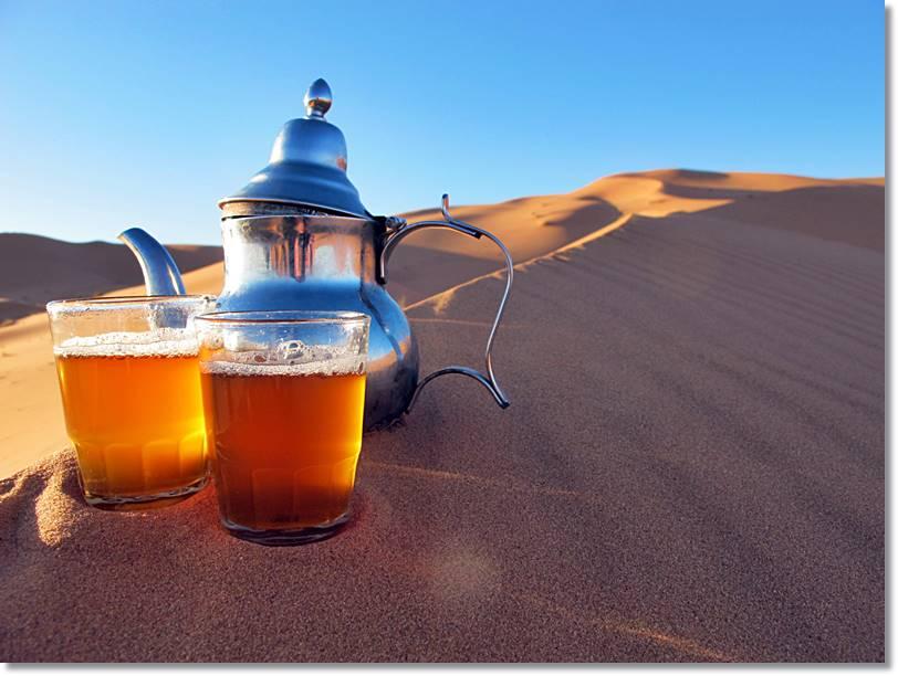 El té para los berberiscos está presente en prácticamente todos los actos sociales de la vida diaria