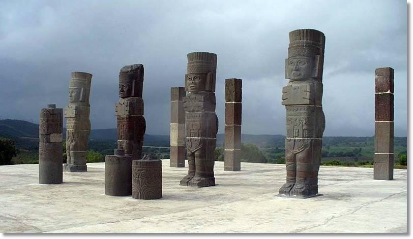 Esculturas Toltecas En Tula México - etnias.net
