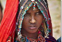 Mujer de la etnia afar - etnias.net
