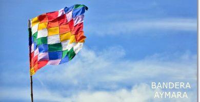 La bandera aimara representa a todo un pueblo que carece de fronteras definidas - etnias.net