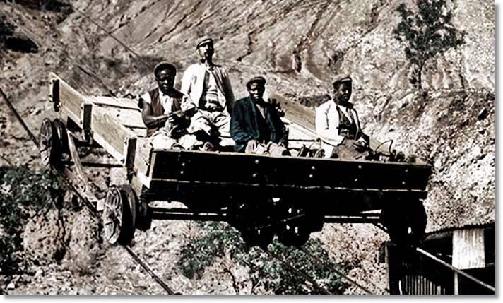 Las condiciones laborales de las primeras minas de diamantes descubiertas eran mucho más que precarias - etnias.net
