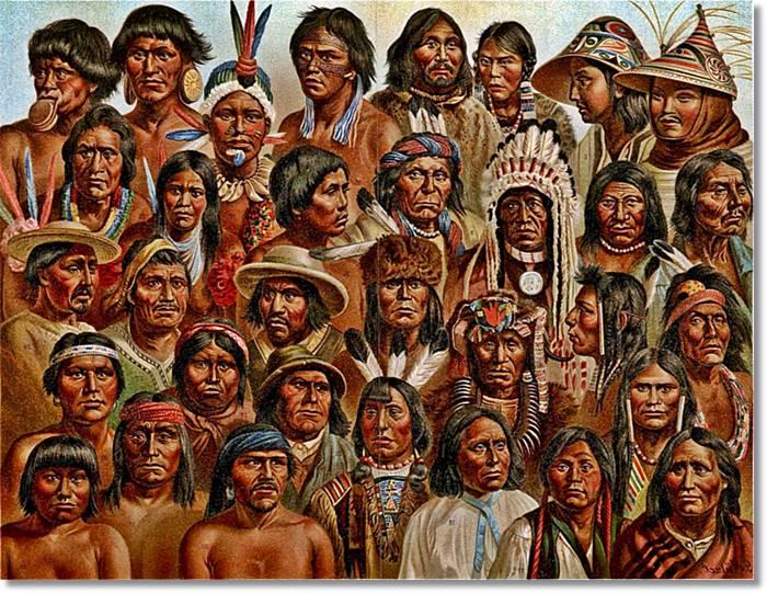 Los pueblos amerindios son numerosos, cada uno de ellos adaptado al terreno y clima donde habitan - etnias.net