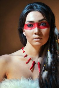 Maquillaje Indios Apache 4