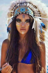 Maquillaje Indios Apache 6