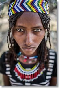 Mujer afar - etnias.net