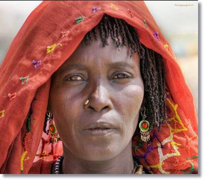 Mujer baggara - etnias.net