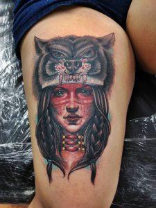 Tatuajes de los indios apache 1