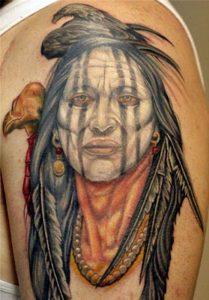 Tatuajes de los indios apache 2