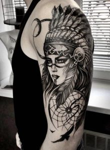 Tatuajes de los indios apache 6