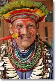 Chaman amazónico - etnias.net