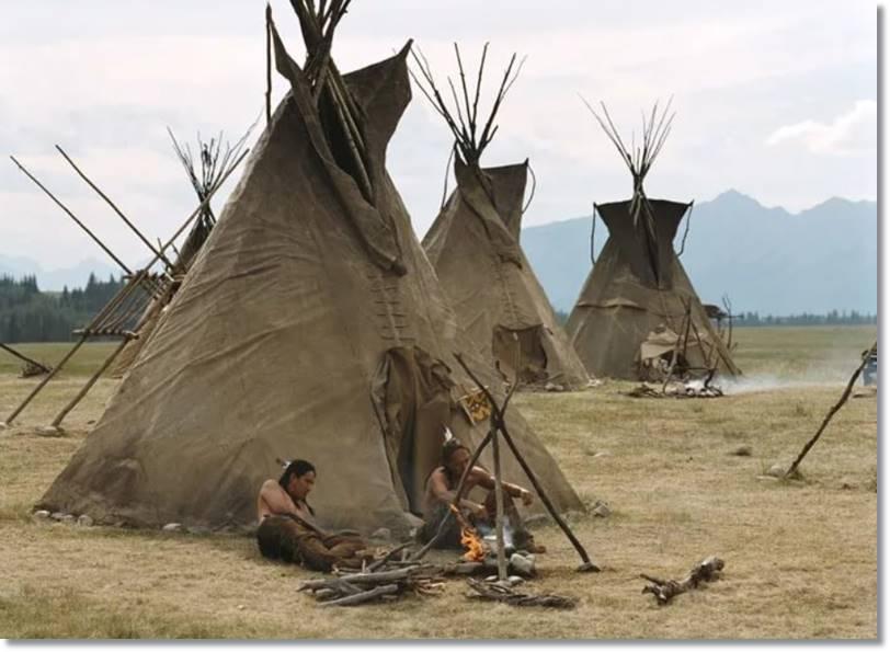 Cuando la tribu arapajo vivía de la caza - etnias.net