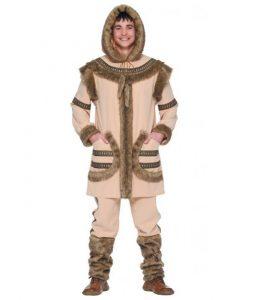 Disfraz de esquimal para niño 1