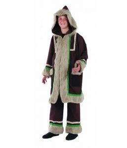 Disfraz de esquimal para niño 2