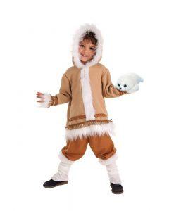 Disfraz de esquimal para niño 3