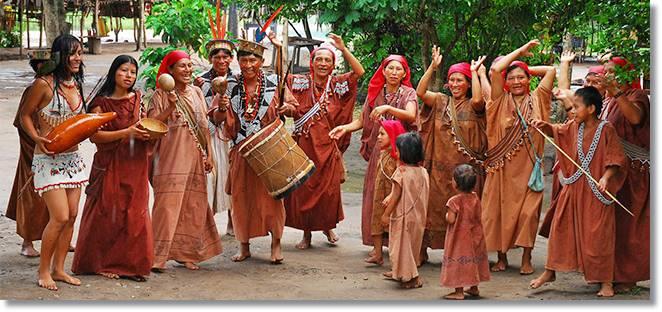 El pueblo kampa conserva sus costumbres a pesar de su constante asimilación a la cultura predominante - etnias.net