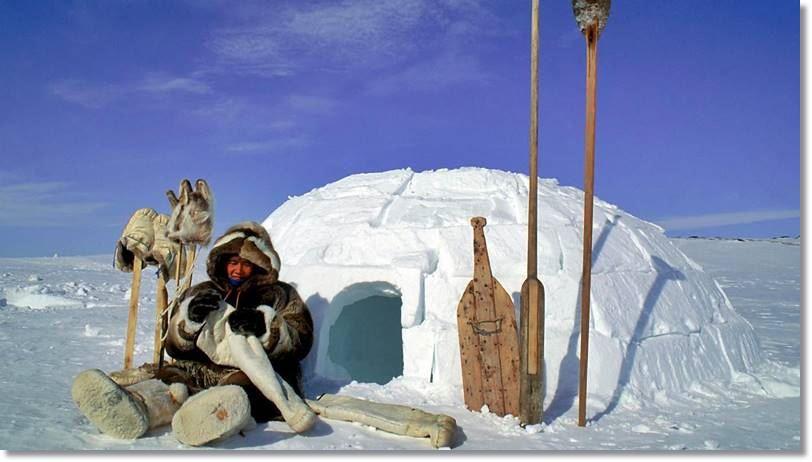 Iglú esquimal - etnias.net