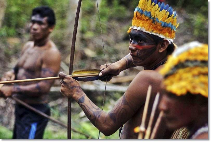 La mayoría de los pueblos indígenas incluidos los yora son esperimentados cazadores - etnias.net