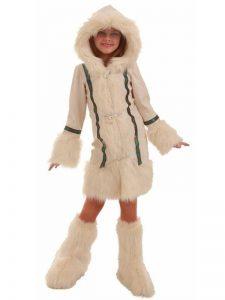 Disfraz de esquimal para niña 2