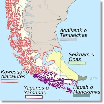 Zona de habitan los alacalufes etnias.net