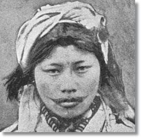 Mujer aino - etnias.net