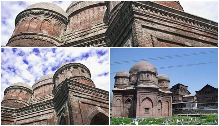 Mausuleo de la época del emperador Zain-ul-Abidin (1418–1419) donde se encuentra enterrada su madre - etnias.net