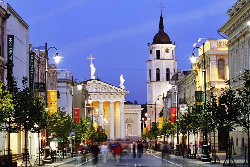 Catedral de Vilna es la principal iglesia católica de Lituania