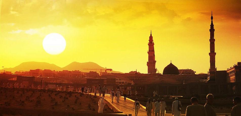 Medina en Arabia Saudi