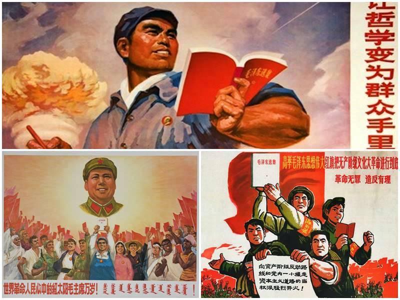 Mantenga alta la gran bandera roja del pensamiento de Mao Tse-Tung y participe activamente en la gran revolución cultural socialista