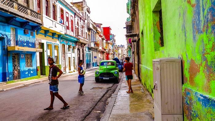 Calles de una ciudad cubana