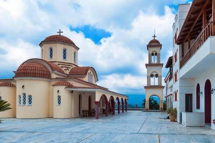 Iglesia en Creta, Grecia