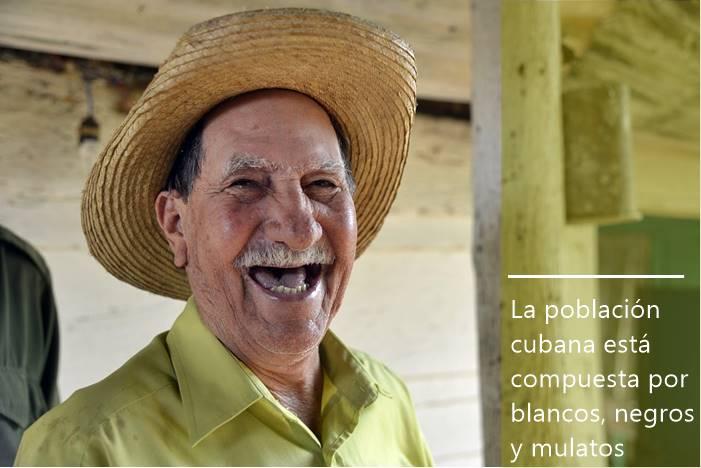 La población cubana está compuesta por numerosas razas
