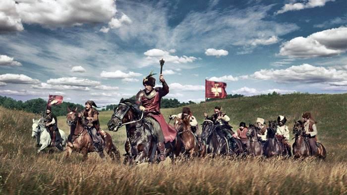 Los cosacos aprendían desde pequeños a luchar y a montar a caballo